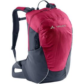 VAUDE Tremalzo 12 Plecak Kobiety, czerwony/czarny